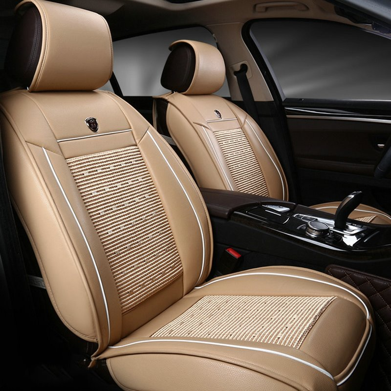 Business Style Leather Business Style Single-seat Universal Car Seat Cover