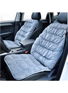 Pure Color Easy installing Preserve Heat Single-seat Universal Car Seat Cover