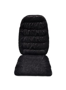 Pure Color Easy installing Preserve Heat Single-seat Universal Car Seat Covers