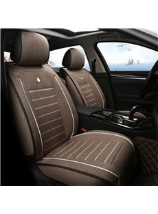 Refreshing Linen Durable Cost-efficient Single-seat Universal Car Seat Covers