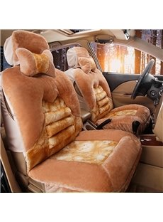 Super Soft and Warm Must-have Single-seat Universal Car Seat Covers