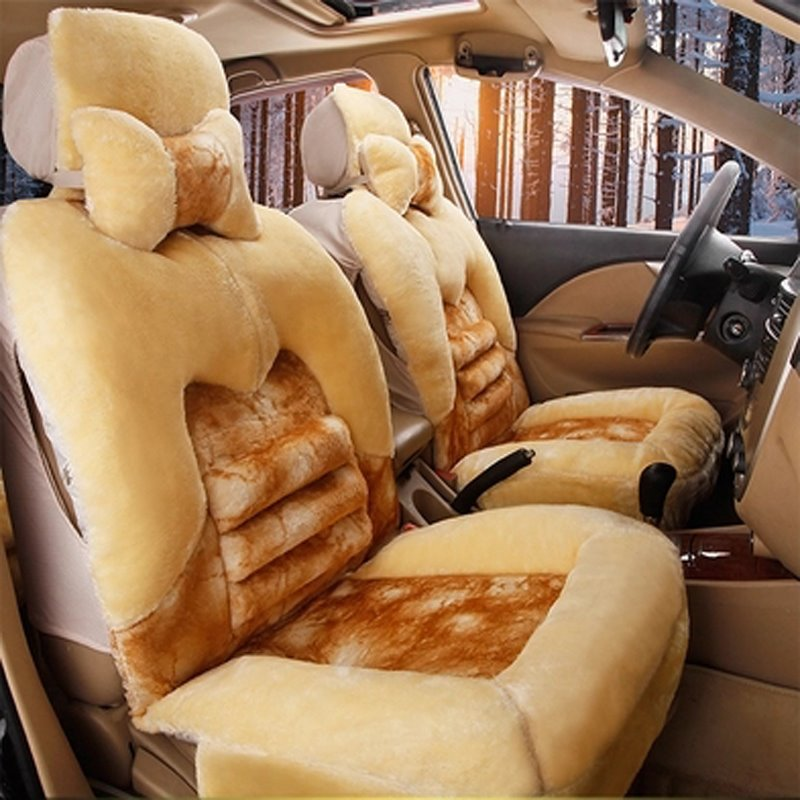 Super Soft and Warm Must-have Single-seat Universal Car Seat Cover