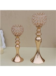 Creative European Style Fashion Handicrafts Home Decoration Mermaid Crystal Candle Holder