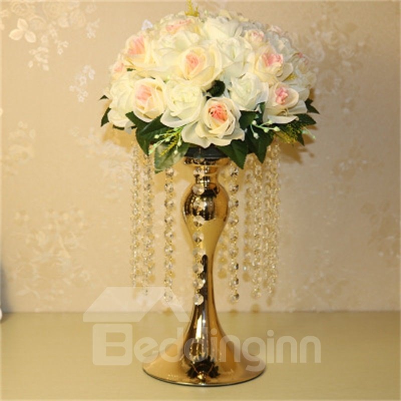 Fashion and Creative European Style Versatile Home Decorative Crystal Candle Holder