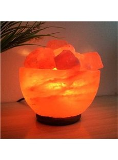 Himalayan Natural Salt Modern Style Crystal Lamp Multi-Specifications Light