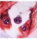 Onlwe 3D Cavalier King Charles Spaniel Dog Printed 4-Piece Bedding Sets/Duvet Covers