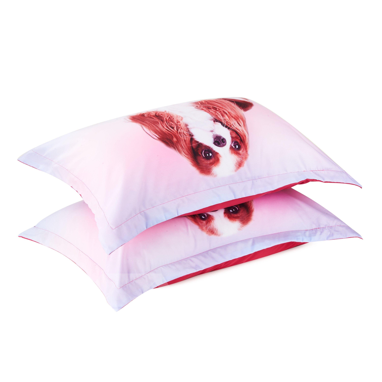Vivilinen Cavalier King Charles Spaniel Dog Printed 3D 4-Piece Bedding Sets/Duvet Covers