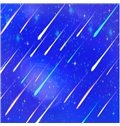 3D Blue Sky with Meteors PVC Waterproof Sturdy Eco-friendly Self-Adhesive Ceiling Murals