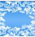 3D Clouds in Sky Printed PVC Waterproof Sturdy Eco-friendly Self-Adhesive Ceiling Murals