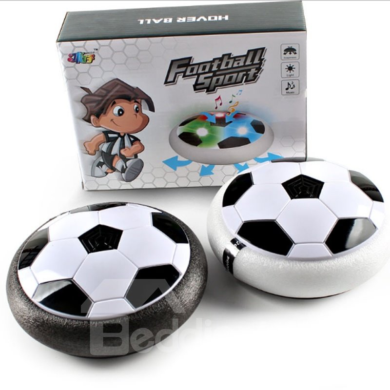 Kids Toys Training Football with Parents Air Power Indoor with LED Lights