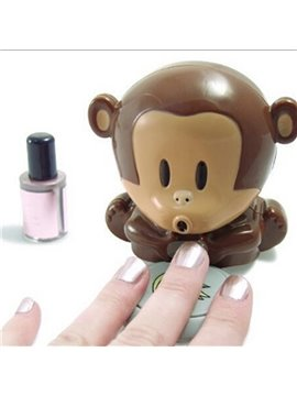 Cute Monkey Shaped Manicure Nail Polish Blower Dryer