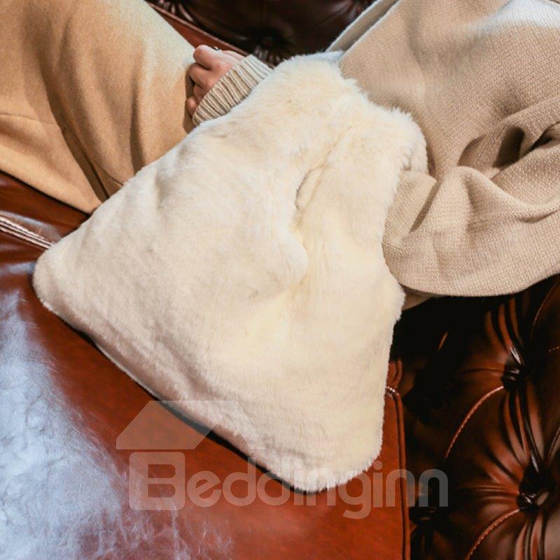 Fluffy Warm Soft Handbag for Women Fashion Cute