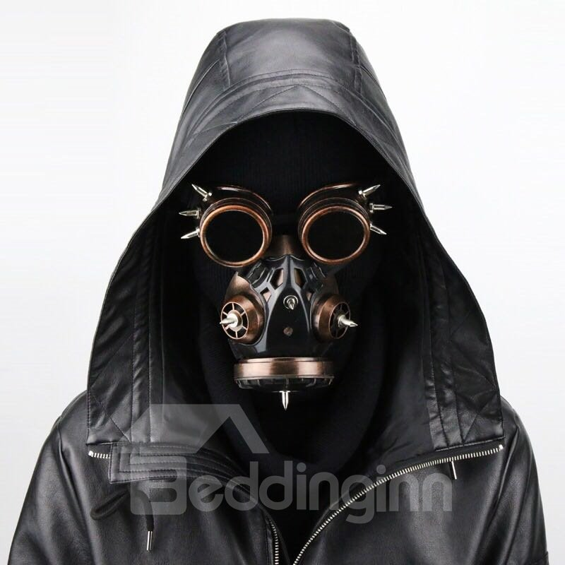 Retro Anti-wind Mirror Gas Mask for Party Costume