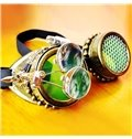 Green Doctor Style Glasses Decor for Halloween Party Costume