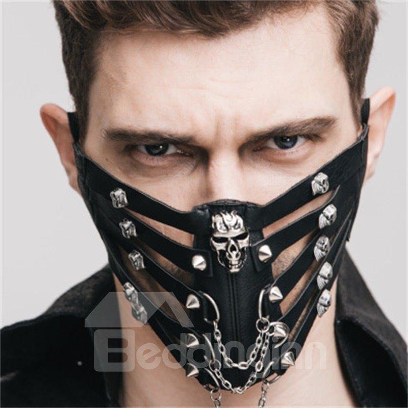 Rock Skull Cosplay Fashion Cool Punk Mask