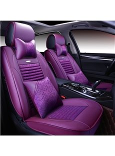 Durable In Use Color Brilliancy Tasteful Leather Universal Car Seat Covers