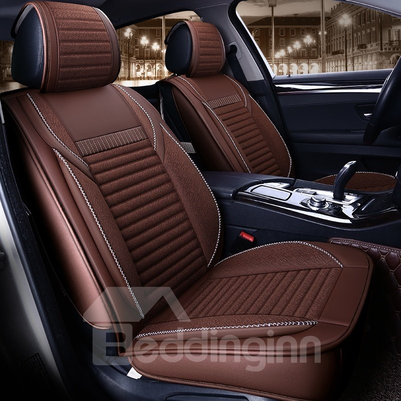 Three-Dimensional Tailored Sports Style Universal Car Seat Covers