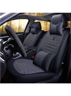 Simple and Classic Design Pure Color Universal Car Seat Covers
