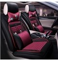 Skillful Manufacture Traditional Flowers&Butterfly Pattern Universal Car Seat Covers