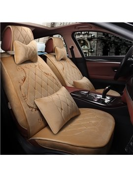 Matching In Color Luxuriant Design Universal Car Seat Cover