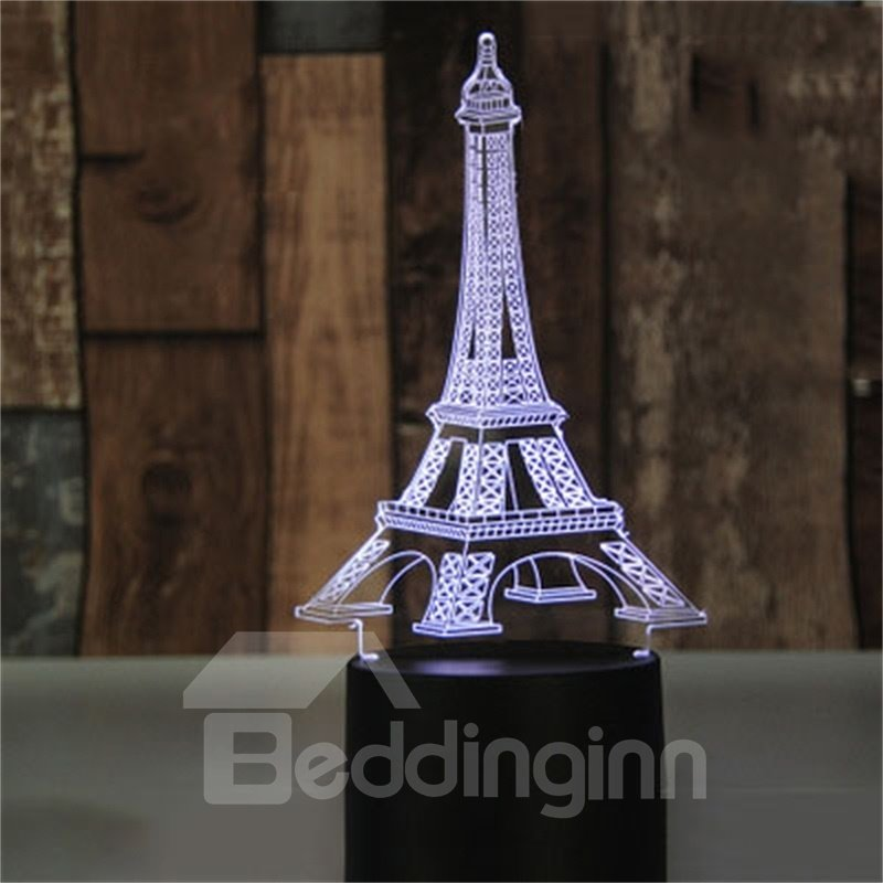 Concise and Modern Creative Birthday Seven Color USB LED Night Light