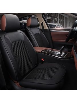Cost-efficient Practical Durable Classic Color Universal Leather Car Seat Cover
