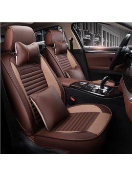 Classic Color Elegant Shape Universal Leather Car Seat Cover