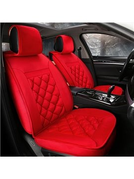 Bright Color Energetic Suede Material Warm Universal Car Seat Cover