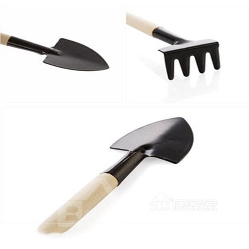 Creative and Modern Style Iron Three-piece Garden Tools