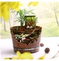 Creative and Elegant Style Totoro with Cartoon Characters Pattern Lovely Resin Succulent Pots