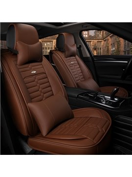 Luxury Acceptable Optimal Regular Design Universal Leather Car Seat Cover