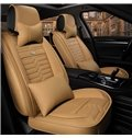Luxury Leather Acceptable Optimal Regular Design Universal Car Seat Cover