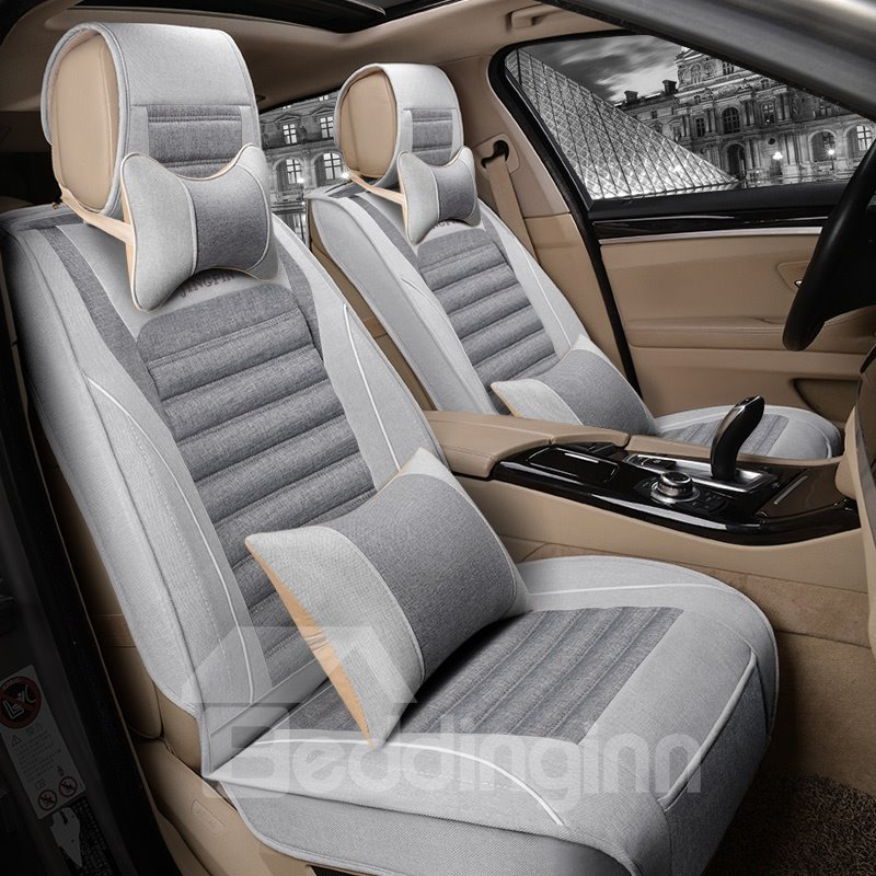 Cost-efficient Soft Material Great Inclusion Property Universal Car Seat Cover