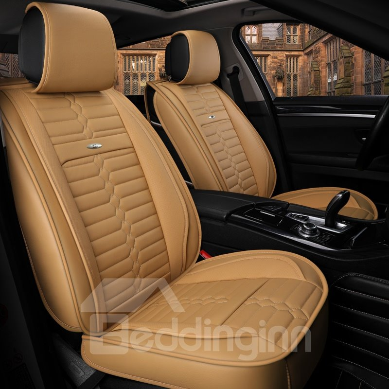 Best Car Seat Covers >> Acceptable Optimal Regular Design Universal Leather Car ...