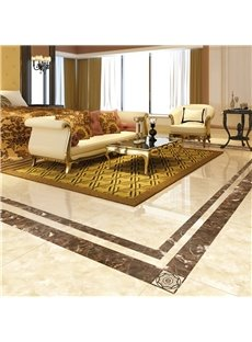 Square PVC Waterproof Eco-friendly Floor Art Tile Sticker
