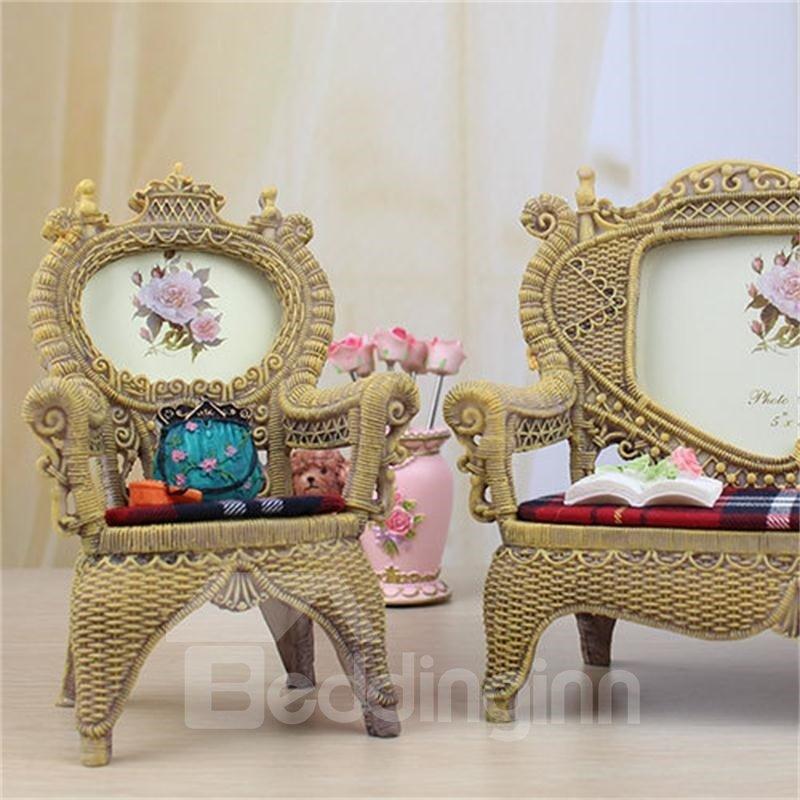 Classic and European Style Resin Sofa Creative RetroPhoto Frame