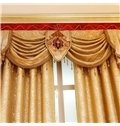 Noble and Elegant Soft Chenille Custom Decorative Living Room Sheer Window Drape