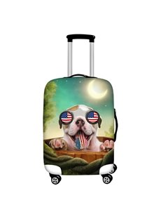 French Bulldog Summer Beach Waterproof Suitcase Protector for 19 20 21