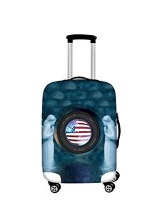Statue and Flag Waterproof Suitcase Protector for 19 20 21