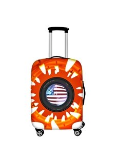 Candle Camera View Waterproof Suitcase Protector for 19 20 21