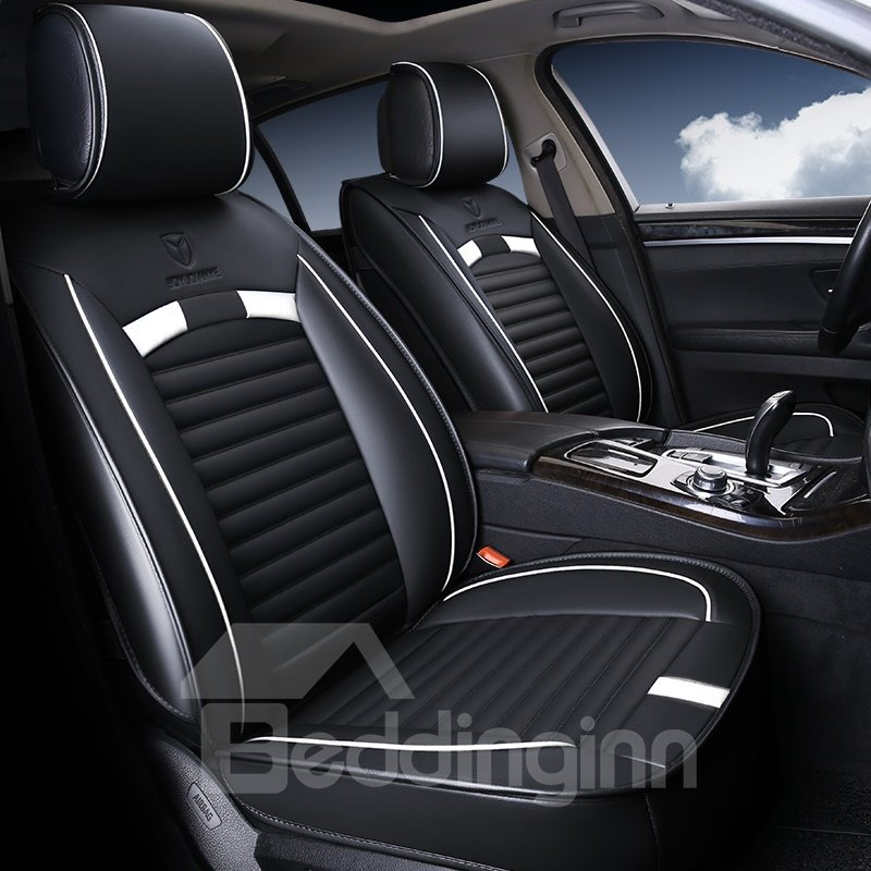 Sports Series WIth Bright Lines Universal Car Seat Covers