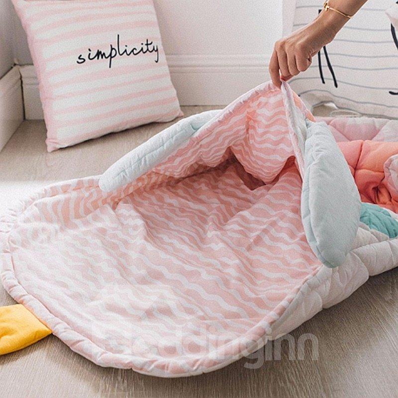 3D Little Princess Printed Cotton 1-Piece Baby Sleeping Bag