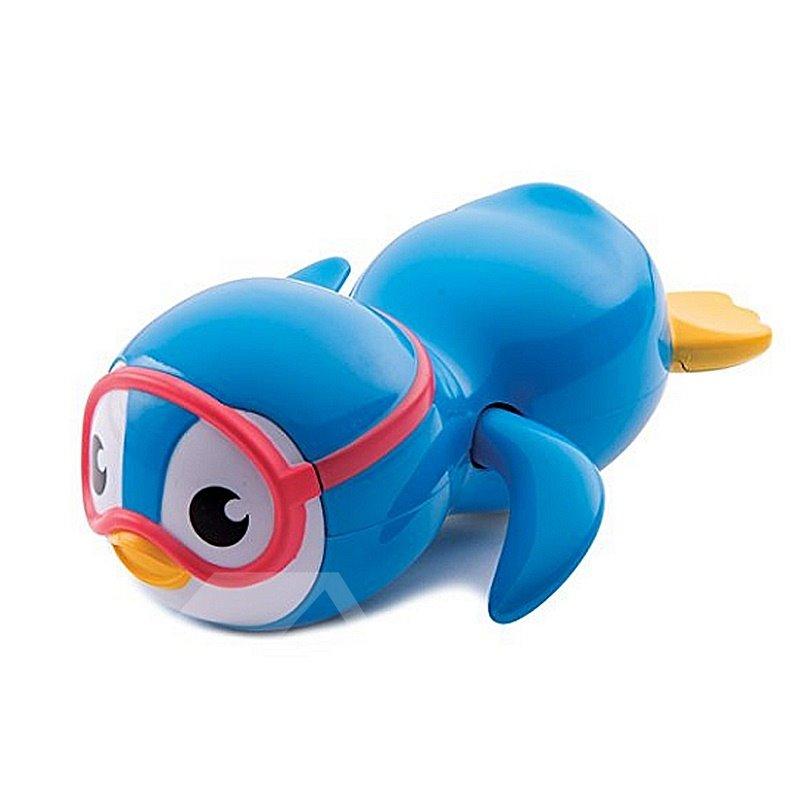 Swimming Penguin Shaped 6-Piece Kids Bath Toy Set