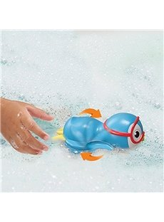 Swimming Penguin Shaped 6-Piece Kids Bath Toy Set