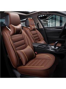 3D Waist Encircling Elegant Shape Leather Universal Car Seat Cover