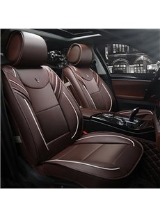 Active Sports Style Supple Leather Harmonious Colors Soft&Breathable Universal Car Seat Covers