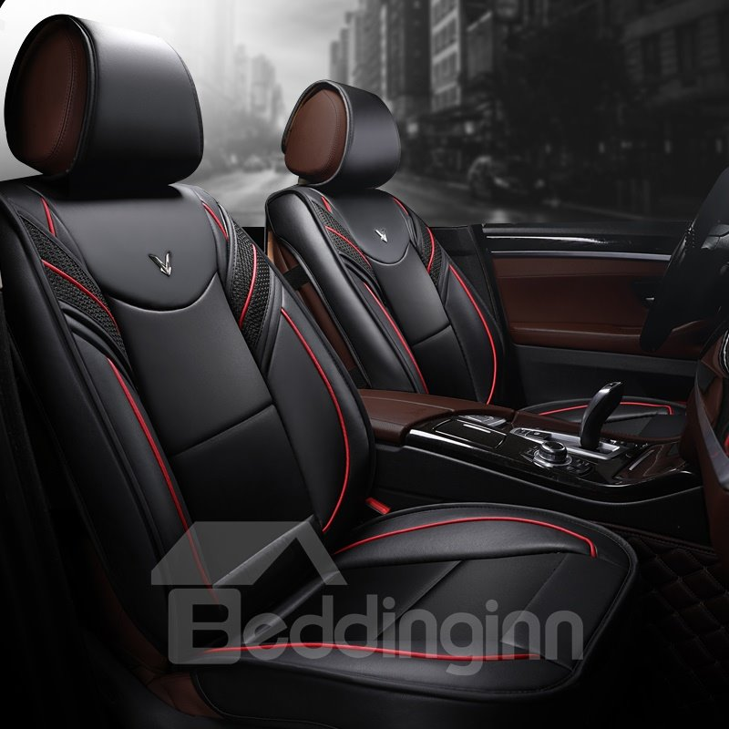 Active Sports Style Leather Harmonious Colors Universal Car Seat Covers