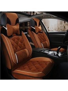 Extravagant Elegant Shape Luxuriant in Design Warm Winter Universal Car Seat Covers