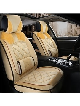 Elegant Shape Luxuriant in Design Warm Winter Universal Car Seat Covers
