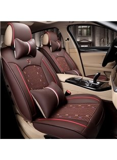 Luxury Delicate Handmade Knit Wear-resisting Showy Universal Car Seat Covers
